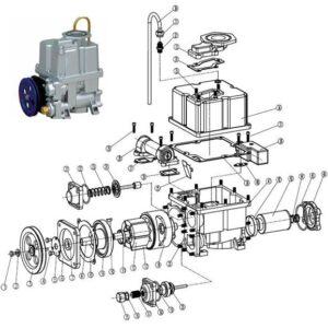 Ремкомплект моноблока ТРК Топаз (фильтр, сальник, втулка, лопатки)