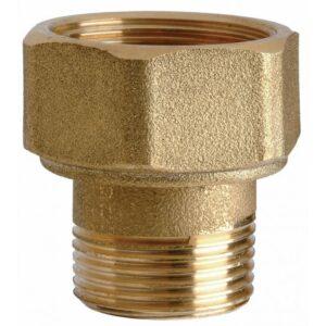 Переходник НР/РВ М33х1,5-М33х1,5 L44 (для mSF-20) с кольцом уплотнительным