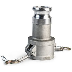 """Камлок (переходной) DA-1520 1 1/2""""х2"""" (38х50)мм AL-алюминий"""