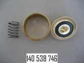 Поршень и втулка 13,5mm высокий для магнитного клапана