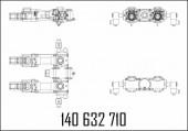 Измерительный блок 2.ecometer, вход. внутренний, выход п+л, s-mpd or/mr 8/4/8