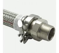 """Гибкое, угловое соединение насос-трубопровод диаметр 2"""" (1.5""""), длина 600 мм"""