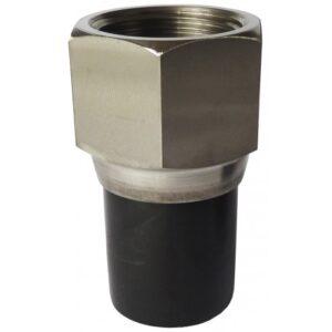 [82.032 SS] Соединение концевое 32мм из нержавеющей стали с внутренней резьбой
