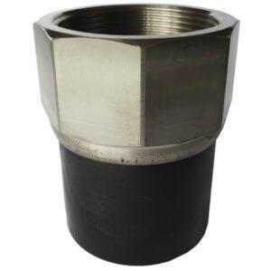 [82.050 SS] Соединение концевое 50мм из нержавеющей стали с внутренней резьбой
