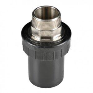[91-063-1] Соединение концевое 63 мм с наружной резьбой 50 мм
