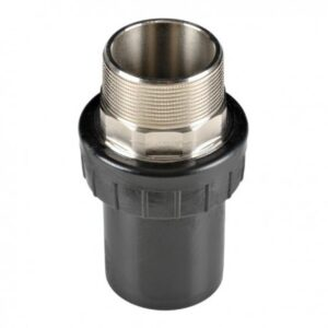[91-063] Соединение концевое 63 мм с наружной резьбой