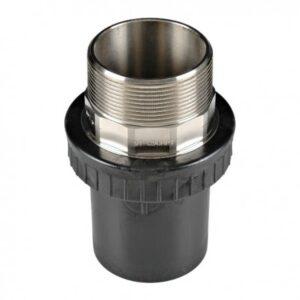 [91-090] Соединение концевое 90 мм с наружной резьбой