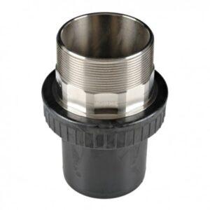[91-110] Соединение концевое 110 мм с наружной резьбой