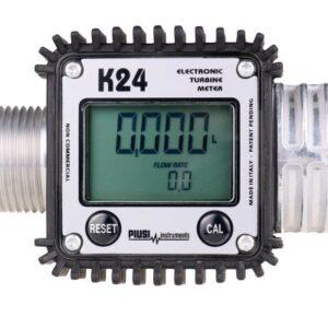 Электронный счётчик PIUSI K24 арт. F00408100 для бензина и дизельного топлива